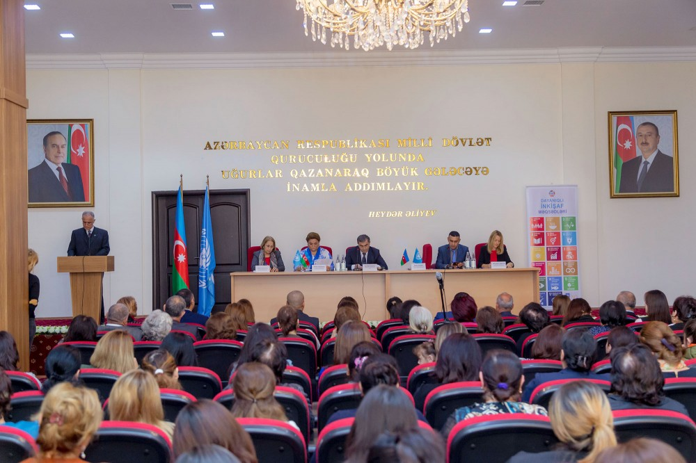 UNDP, Government of Azerbaijan, Coca-Cola open Women Resource Centre in Salyan district