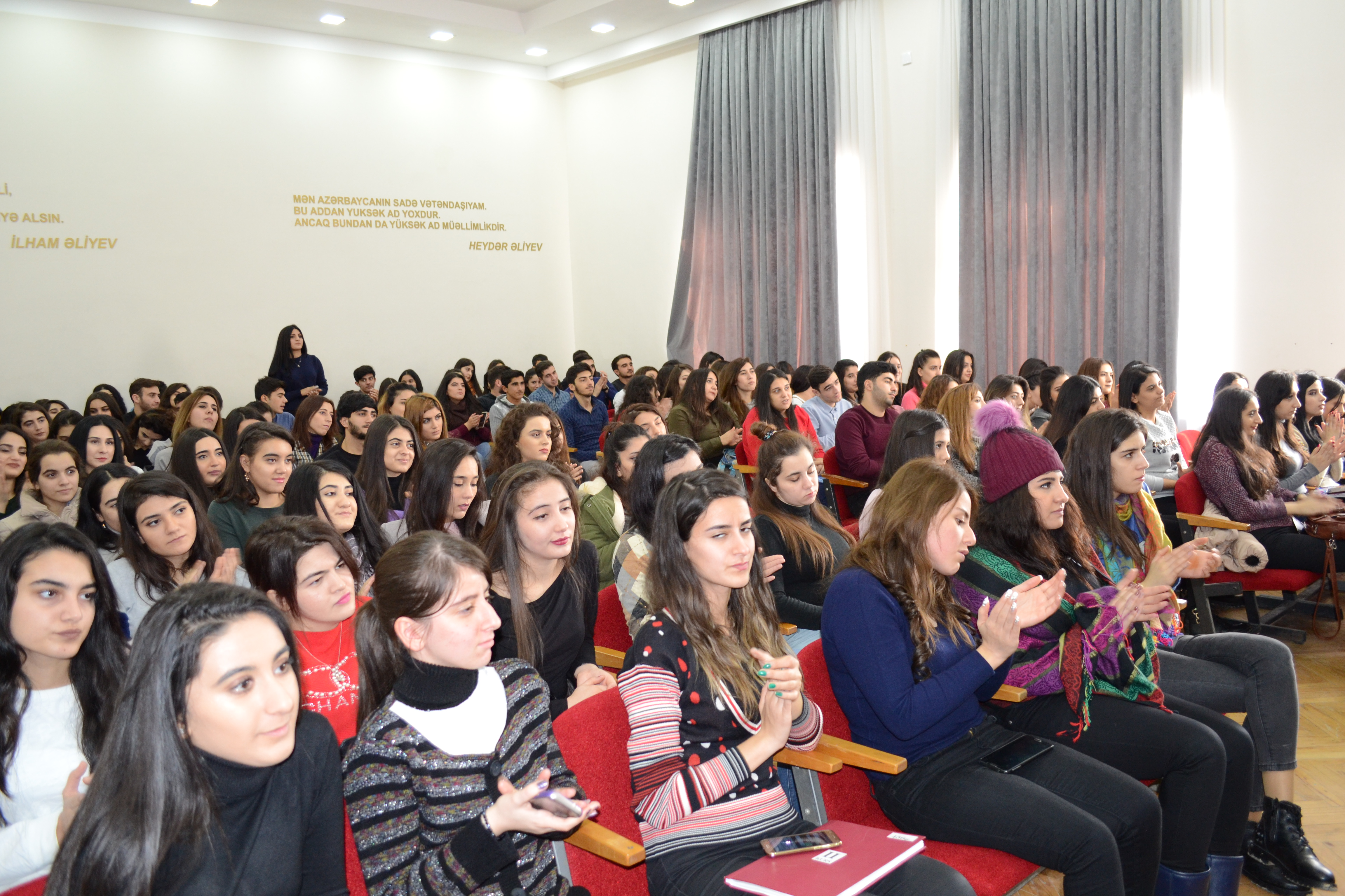 "The event within the framework of the project ""Don't become a victim of human trafficking"" was hold in  Baku Business and Cooperation College"