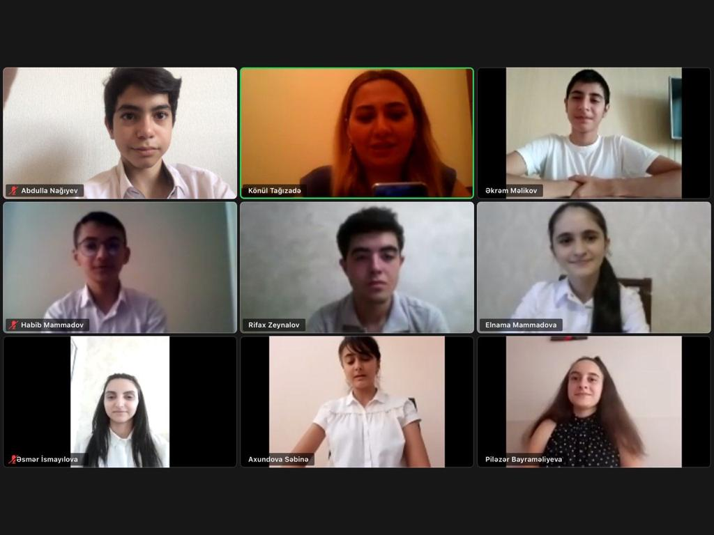 The Assembly of Children's Ambassadors held an online conference on the COVID-19 pandemic threat to human life.