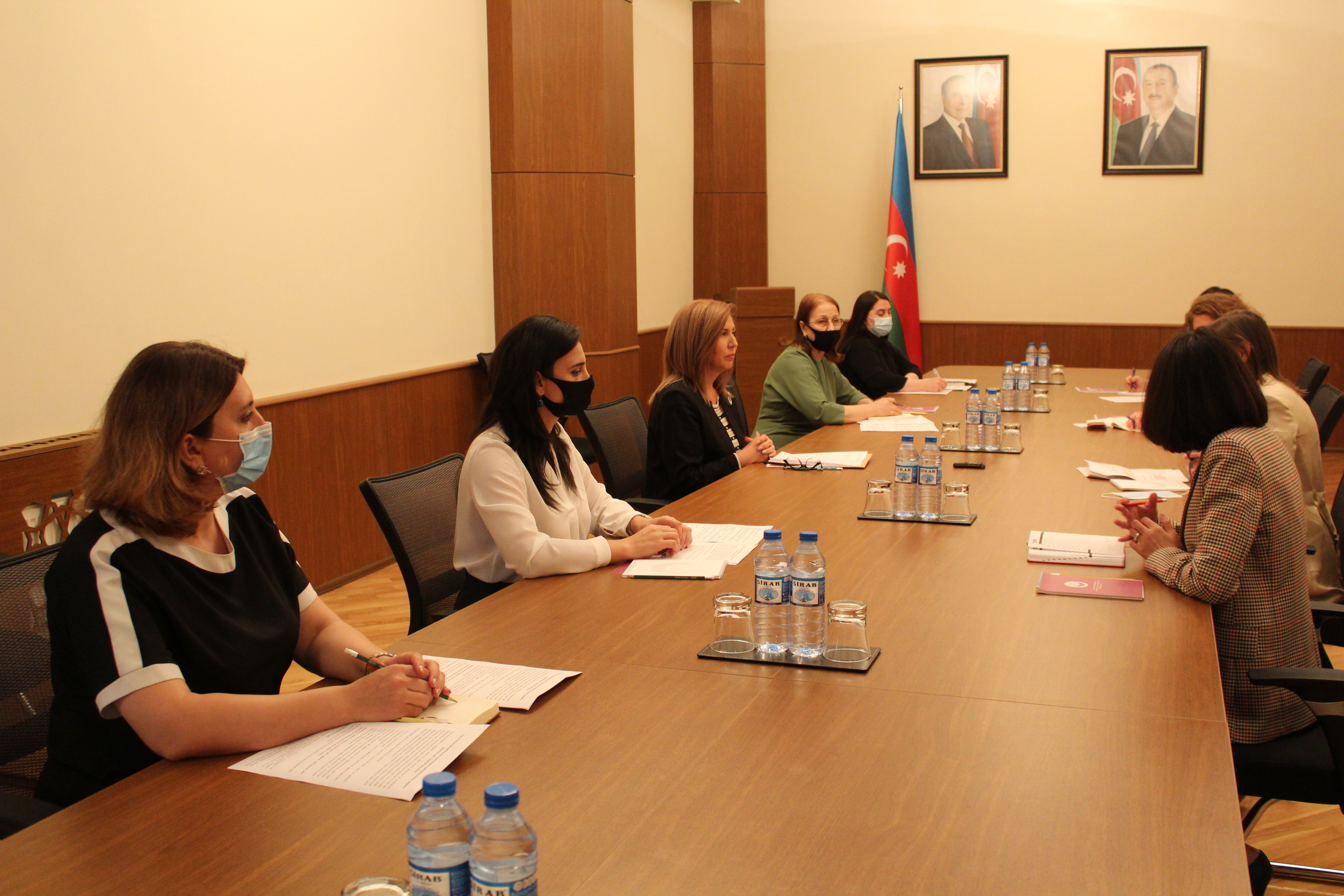 The Committee held a meeting with the International Committee of the Red Cross in Azerbaijan