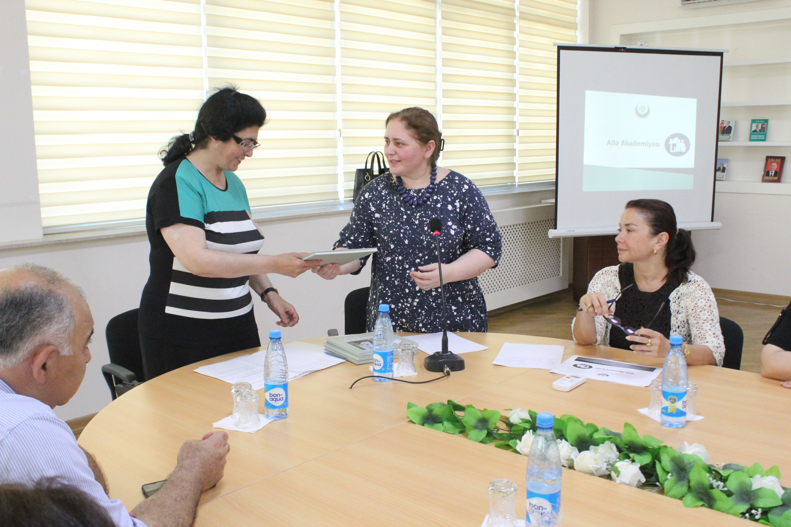 "The next event within the framework of the project ""Family Academy"" was held in Nizami District"