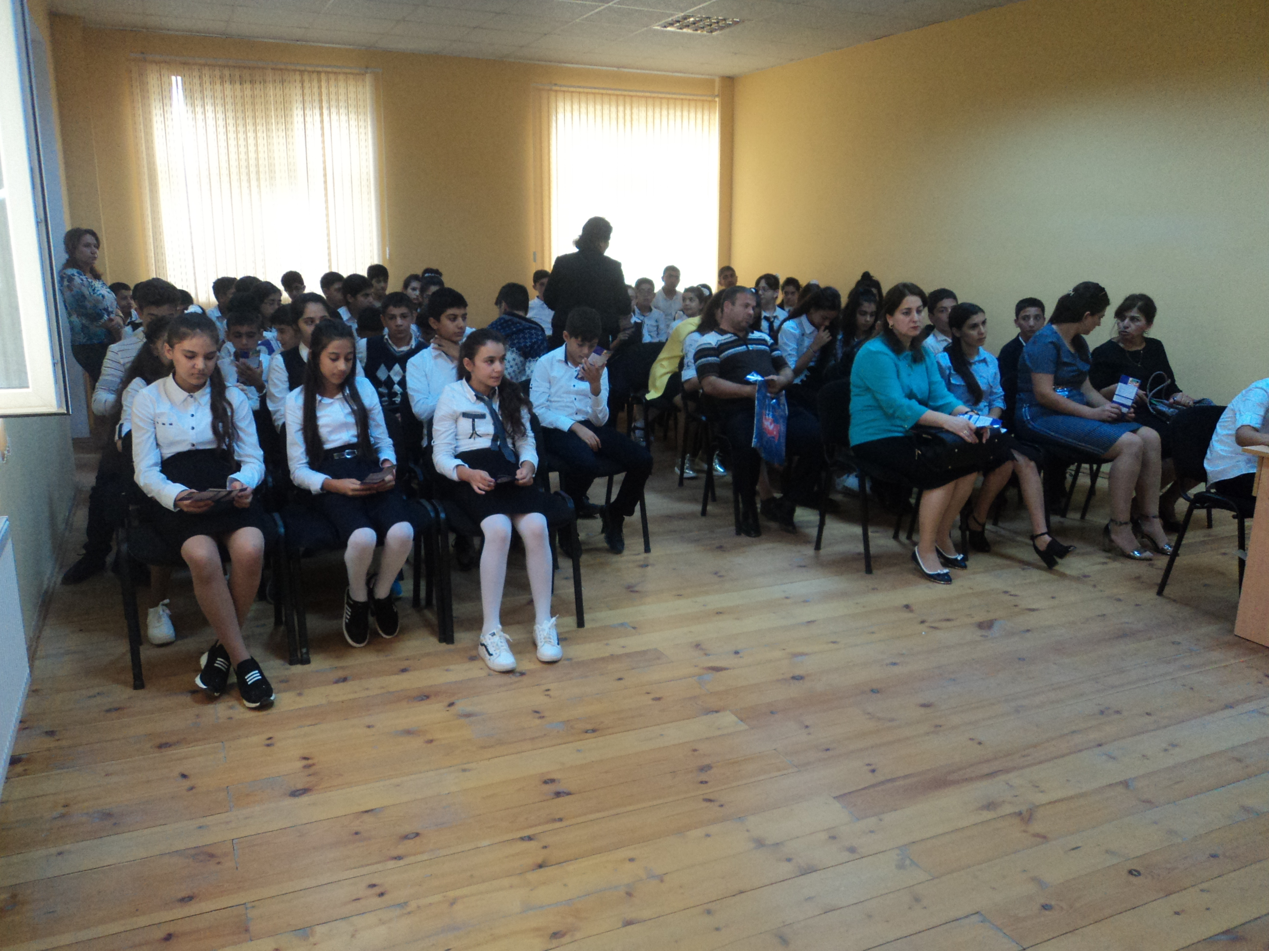 Hajigabul Child and Family Support Center holds event on