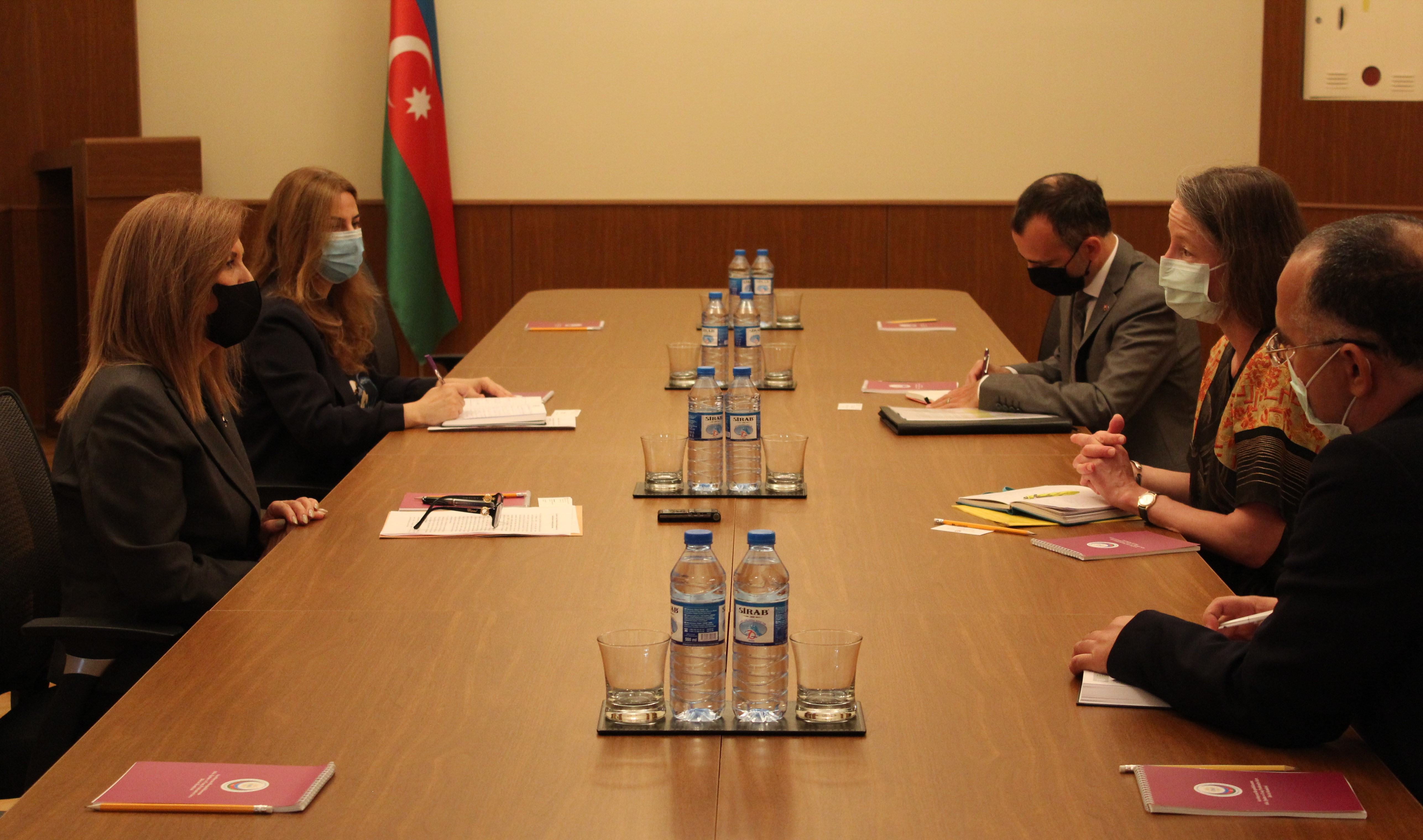 The chairperson of the State Committee met with the Ambassador of the Swiss Confederation to the Republic of Azerbaijan